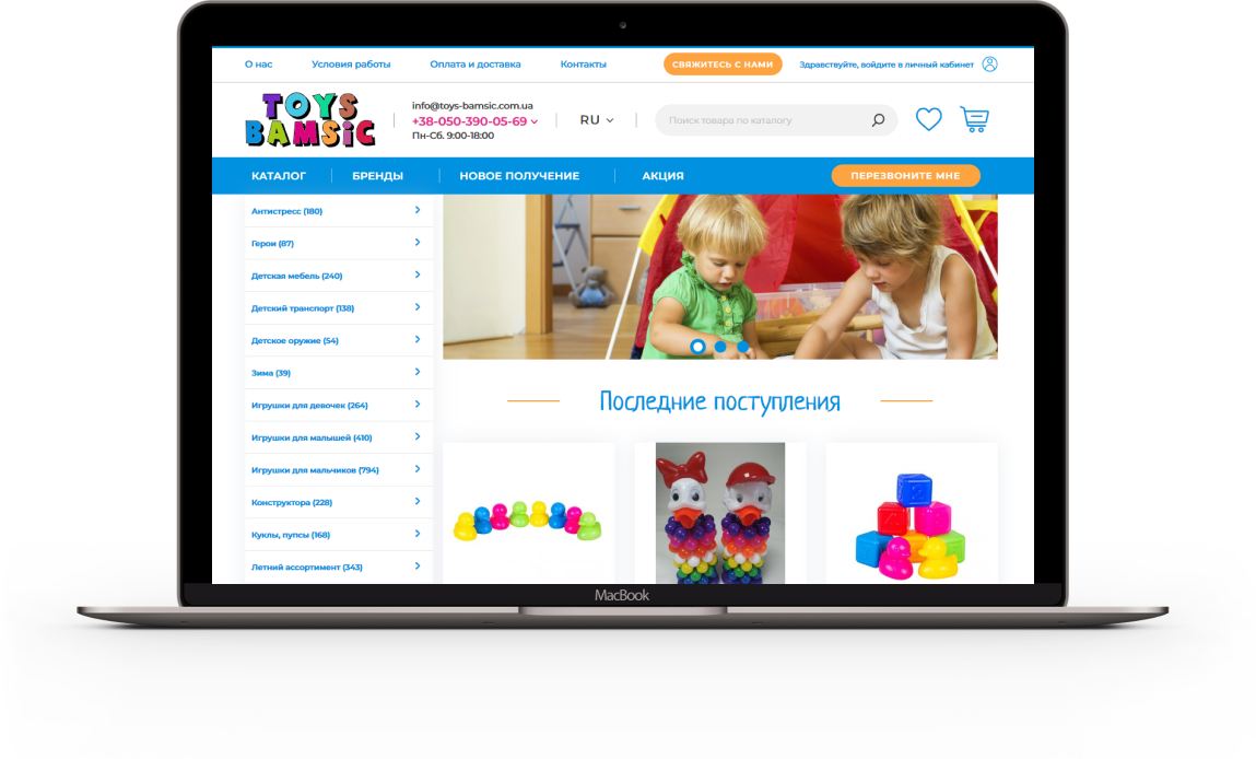 Toys Bamsic section_image_1
