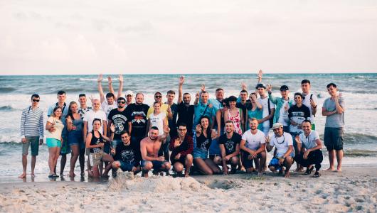 Літній корпоратив Web-Systems Solutions 2018